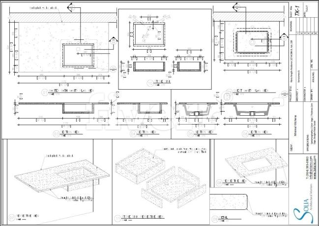 Do Your Furniture Woodworking Millwork And Joinery Shop Drawing By