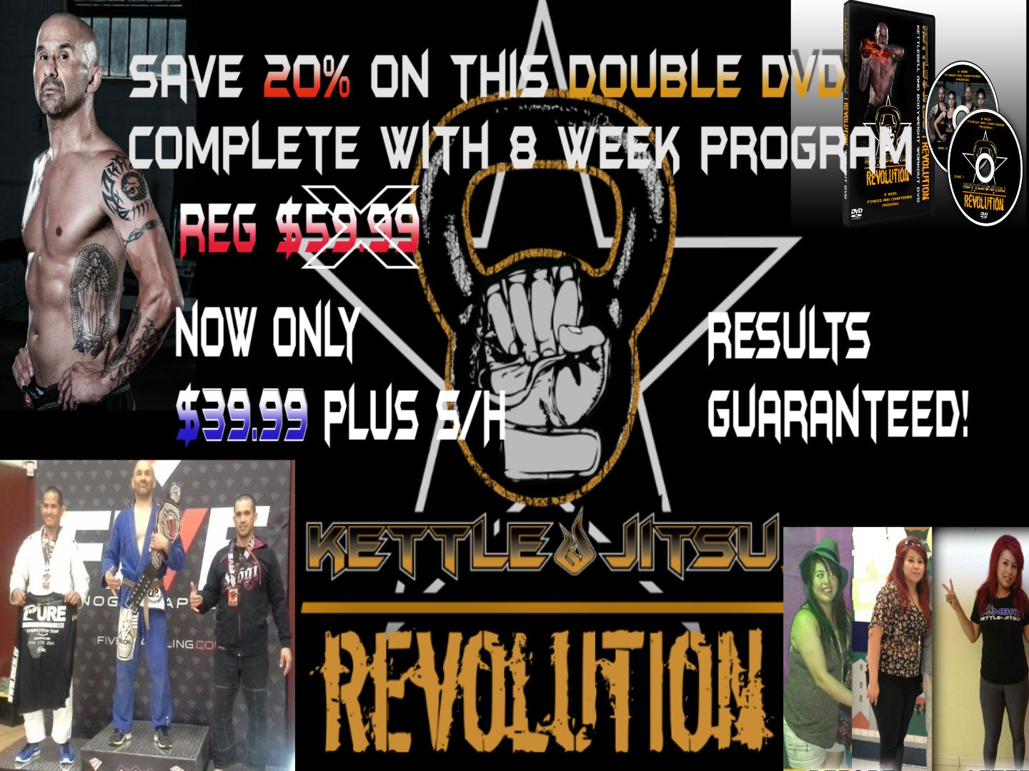Save On This 8 Week Kettlebell Program Guaranteed Results