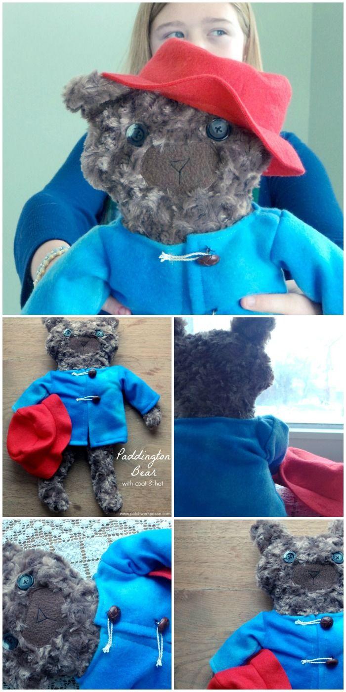 Paddington the Bear Free Pattern | Nähideen, Stoffe und Nähen