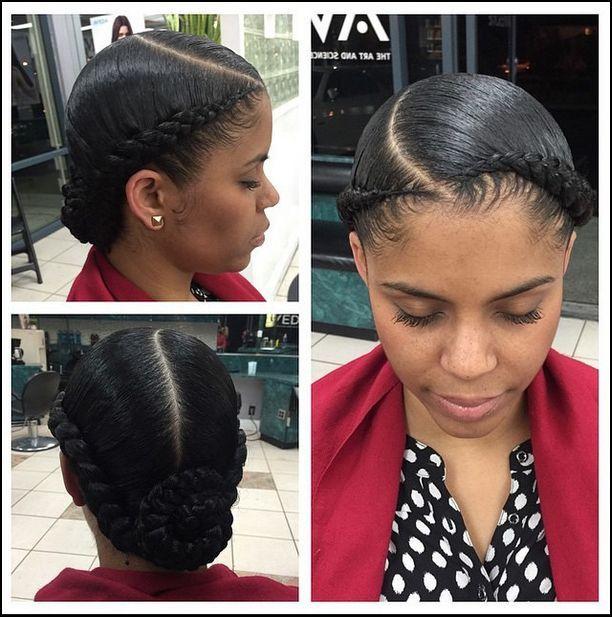 Crown Braids Braids For Black Hair Ghana Braids Womens Hairstyles