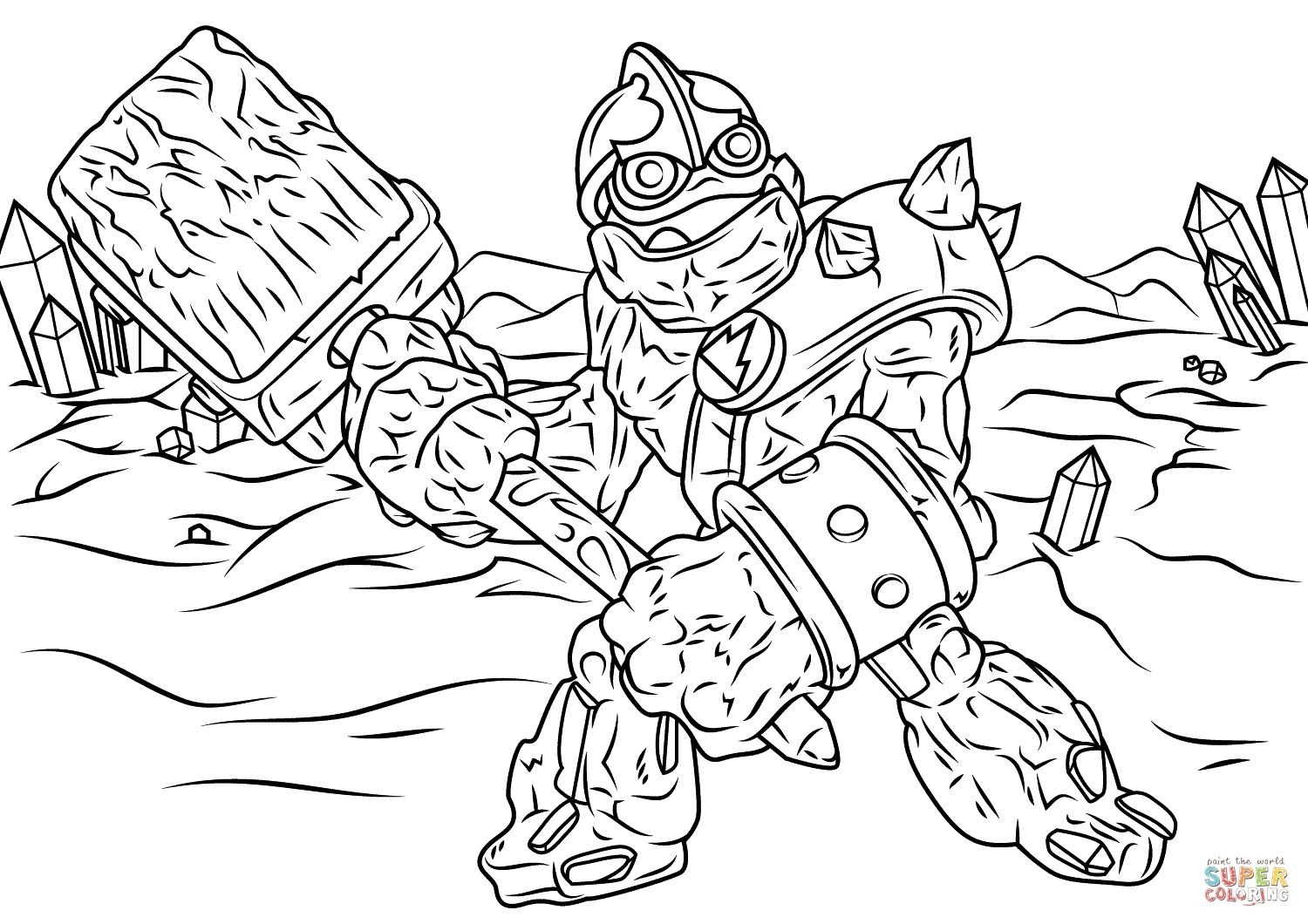 Skylander Coloring Pages Tree Rex Gallery Coloring Pages Adventure Time Coloring Pages Coloring Pages Inspirational