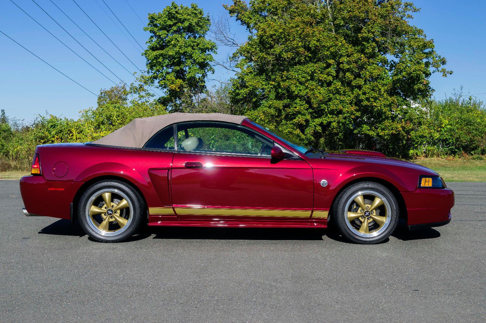 Ford mustang th anniversary