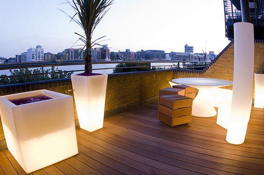 terraza moderna - Terrazas Chill Out