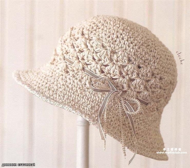 Patrón #860: Sombrero a Ganchillo | Needles, Crochet, Macramé & Knit ...