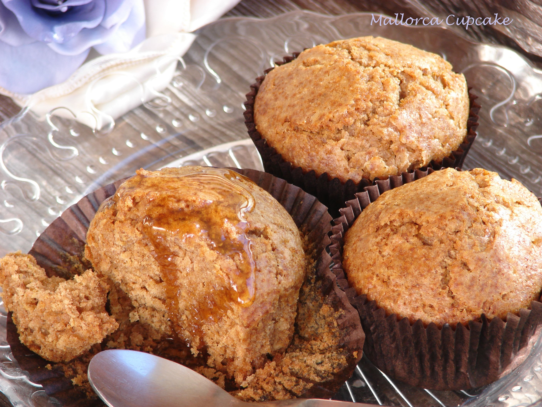 Muffins Integrales De Miel Y Canela Mallorca Cupcake Fondant Cupcakes En Mallorca Canela Y Miel Reposteria Saludable Postres Saludables