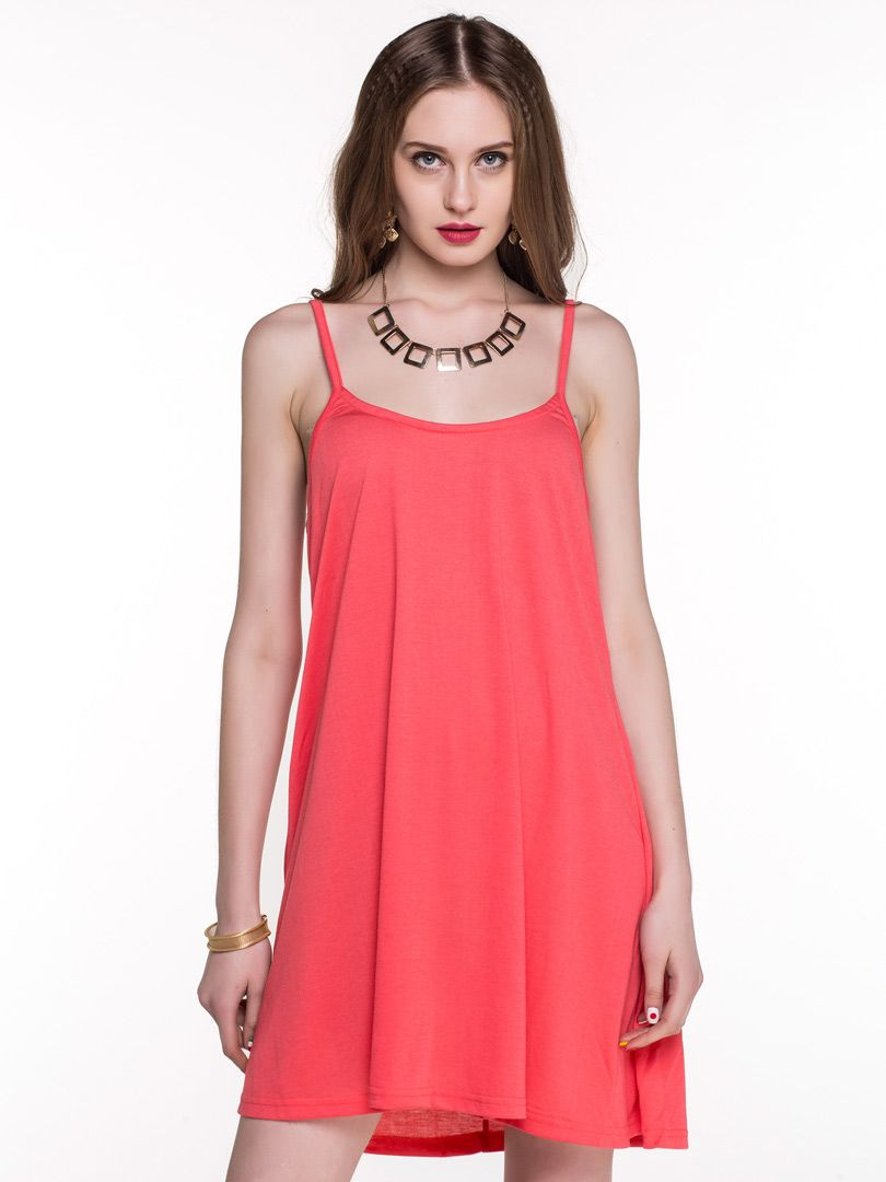 Spaghetti strap dress with back cut out choies clothes what to