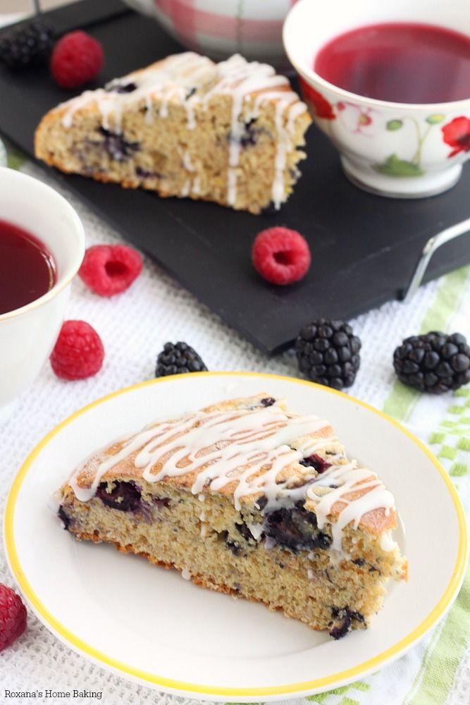 Blueberry Scones | Roxana's Home Baking