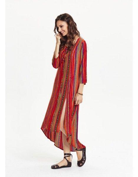 Cizgili Elbise Elbise Elbise Modelleri Cizgili Elbise