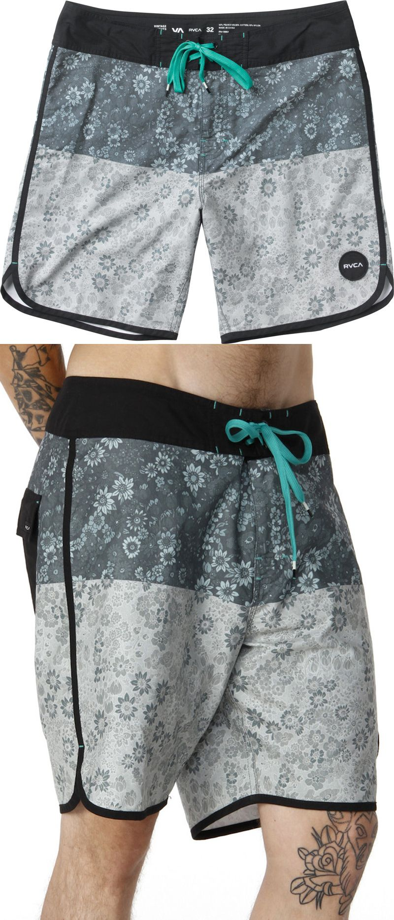 62632a72a3d48 RVCA    Poppy Trunks