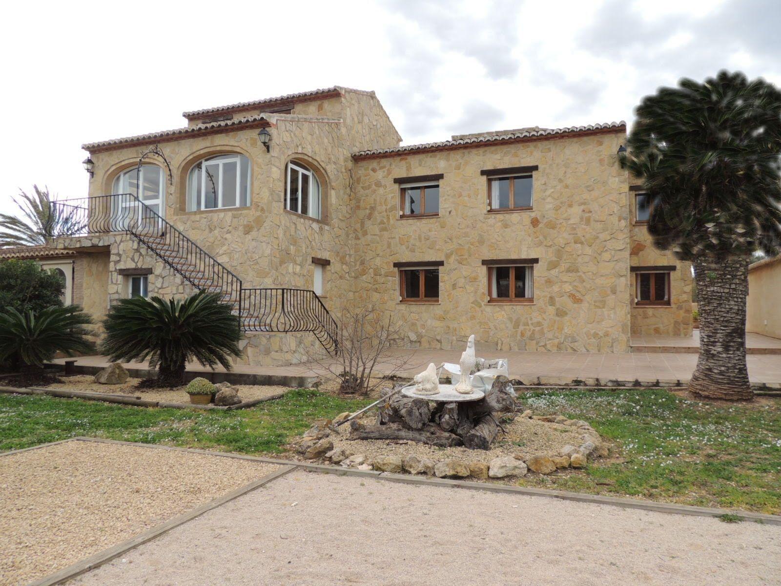 Beautiful Finca Style Villa For Sale In Javea Sale House House Styles Villa