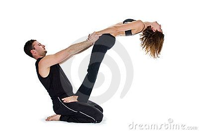 yoga poses for two people  pesquisa google  yoga dance