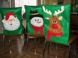 Forros para respaldo de sillas navide os buscar con - Adornos navidenos para sillas ...