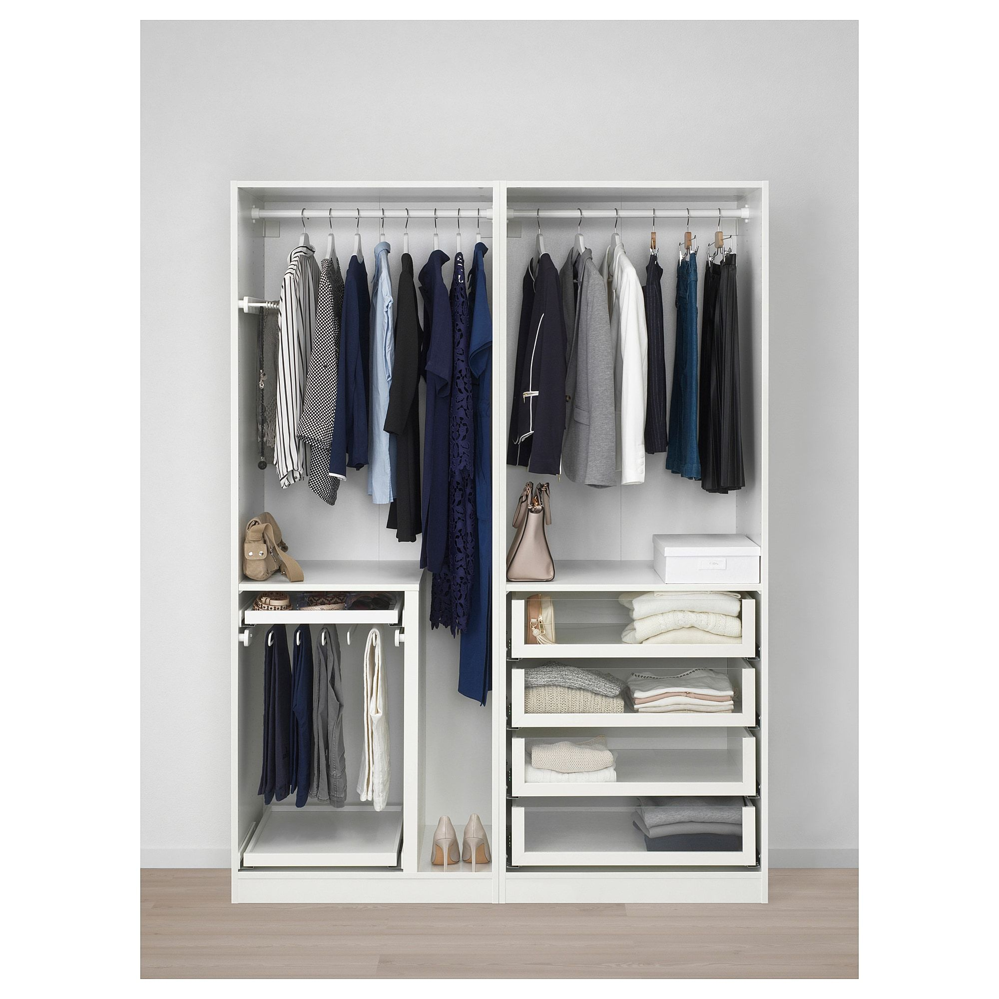 Pax Uggdal Ikea Pax Wardrobe White Uggdal Gray Glass In 2019 Products