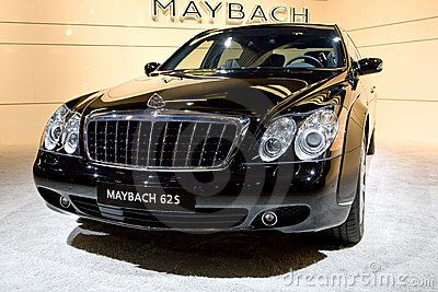 Black bussines car maybach 62s by rqs via dreamstime for Garage mercedes cannes