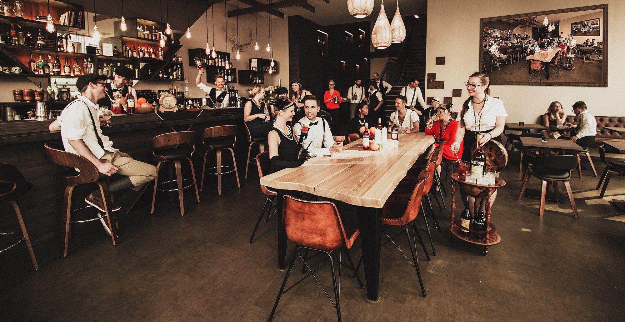 Imperii Bar Restaurant Lounge In 2020 Gastronomie Moderne Kuche Kalbsrouladen