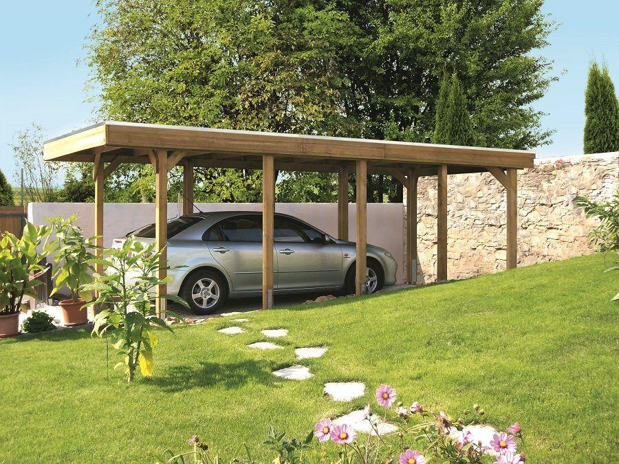 Carport Friesland 314 X 555 Cm Aluminiumdachplatten 314034 50 99 Gartengestaltung Ideen Carport Carport Holz