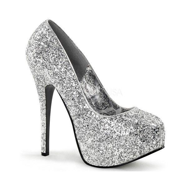 Inch Stiletto Heel Glitter