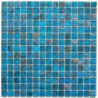Mosaique Piscine Salle De Bain Douche Vitro Bleu Mosaique