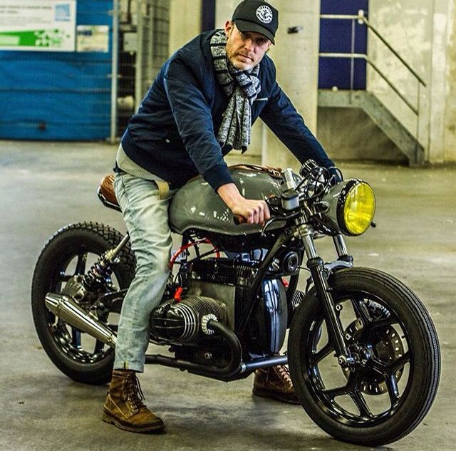 Pin by me, myself and I on photo-moto | Vintage cafe racer