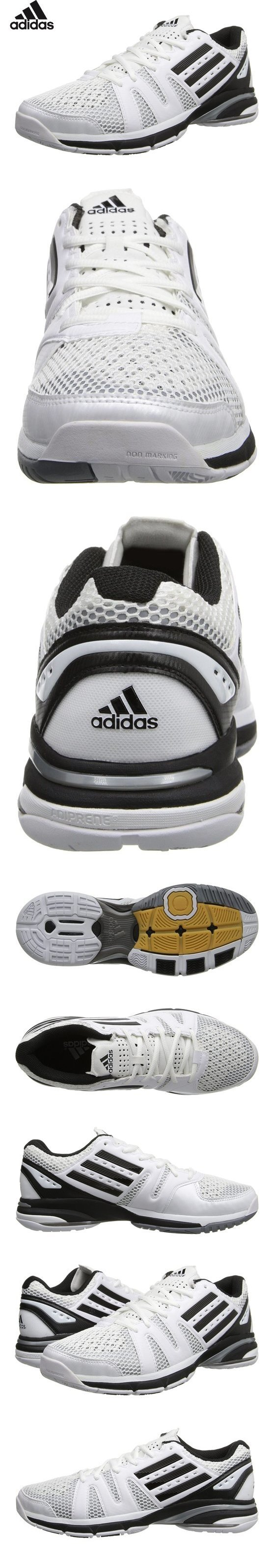 79 95 Adidas Volley Light Womens Volleyball Shoe 8 White Black Grey Volleyball Shoes Shoes Women Volleyball