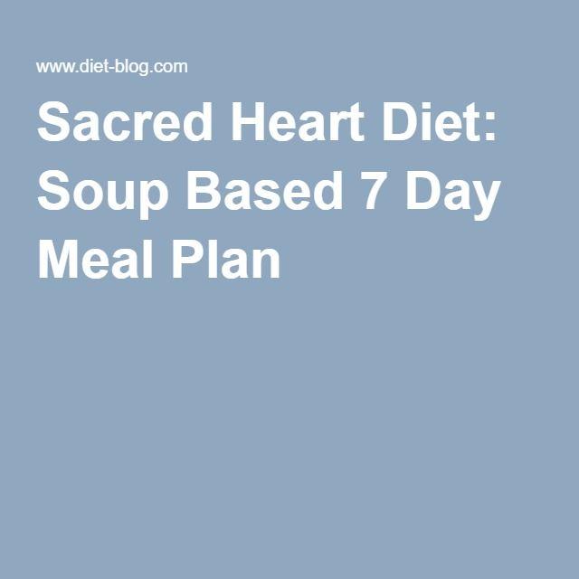 sacred heart memorial hospital 7 day diet