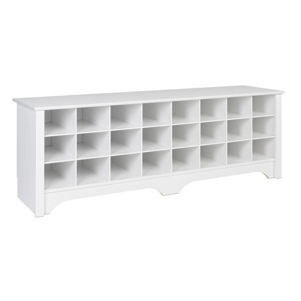 Ingham Shoe Cubby Storage Bench images