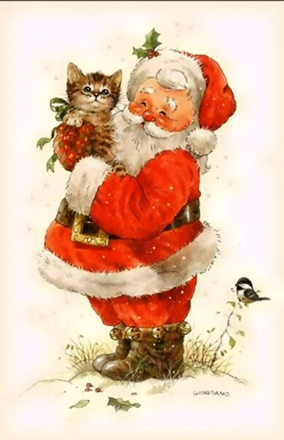 weihnachtsmann vintage santa claus pinterest noel p res no l vintage and papa noel