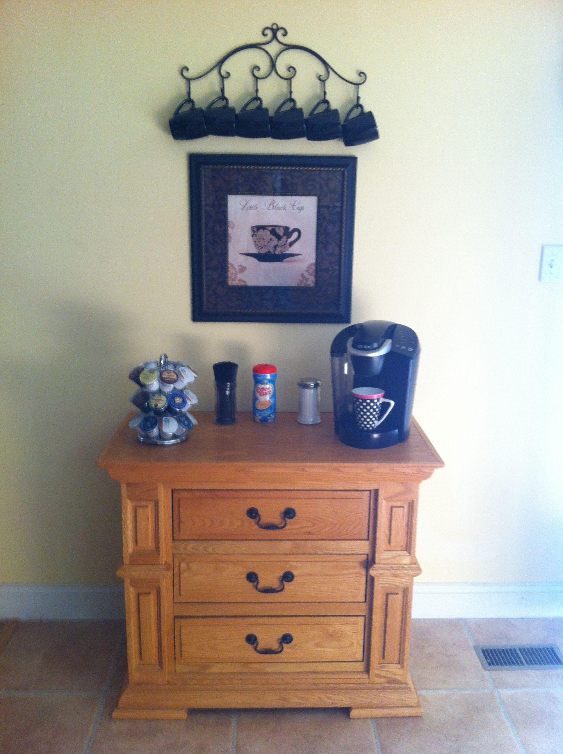 Kitchen Coffee Bar Coffee Bar Home Pinterest Coffee Bar And Kitchen Coffee Bars