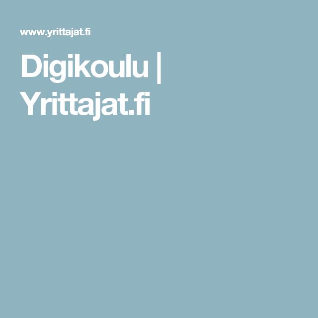 Digikoulu | Yrittajat.fi