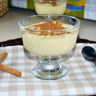 Rice Pudding With Sweetened Condensed Milk Quick Easy Rice Pudding Recipe Easy Rice Pudding Rice Pudding Recipe Easy Rice Pudding