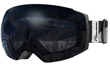 99b8d6b20 OutdoorMaster Ski Goggles PRO - Frameless, Interchangeable Lens 100 ...