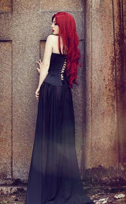 as tempted as i am to do pixie, looking at long hair makes me jealous! especially long, gorgeous red!!