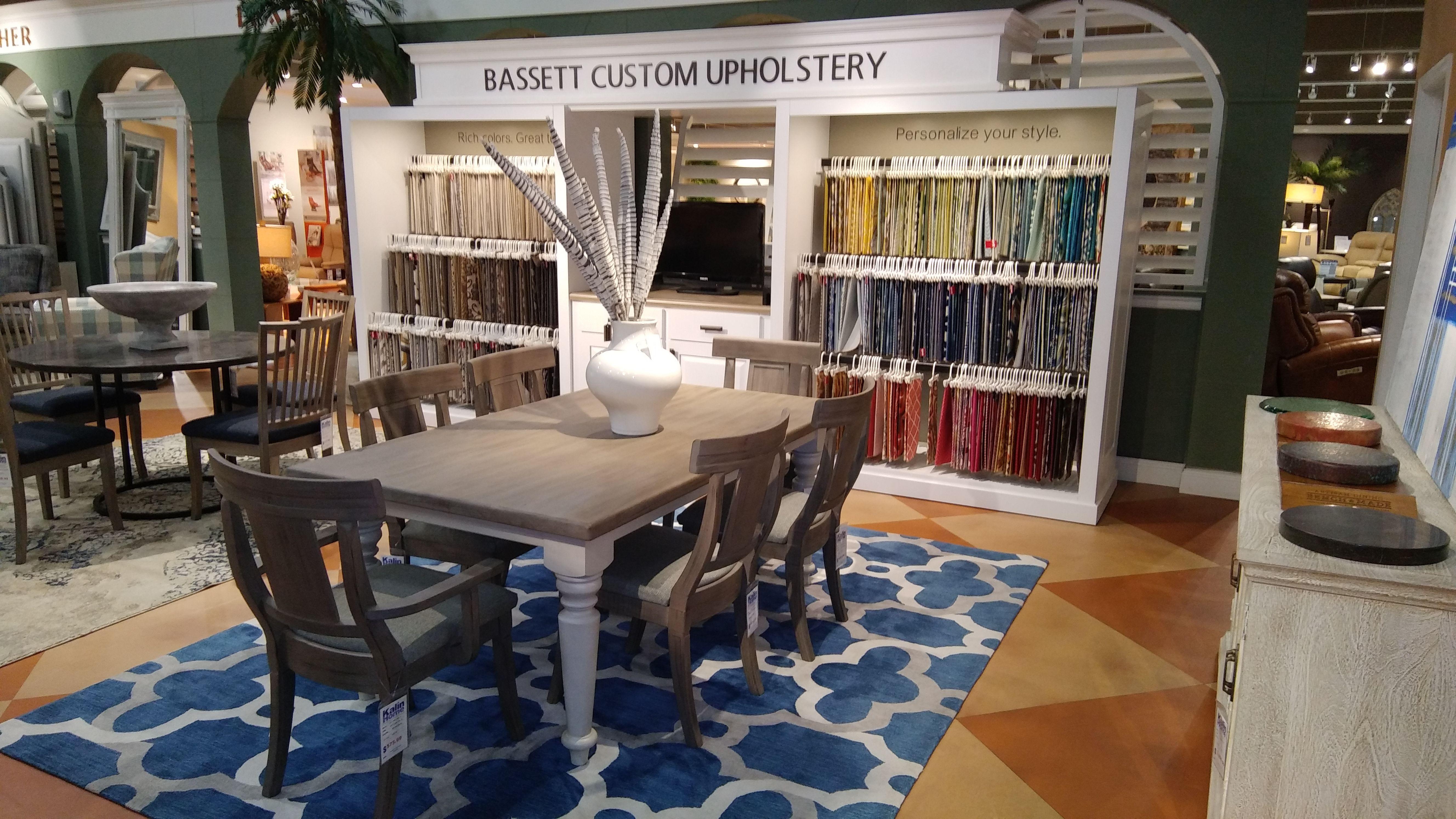 Bassett Custom Design Center With Images Home Furnishings