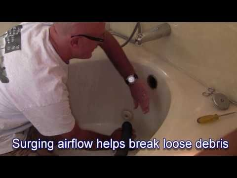 How To Unclog Your Tub Drain Using A Vac For The