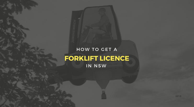 How to get a forklift licence in NSW Forklift, Forklift