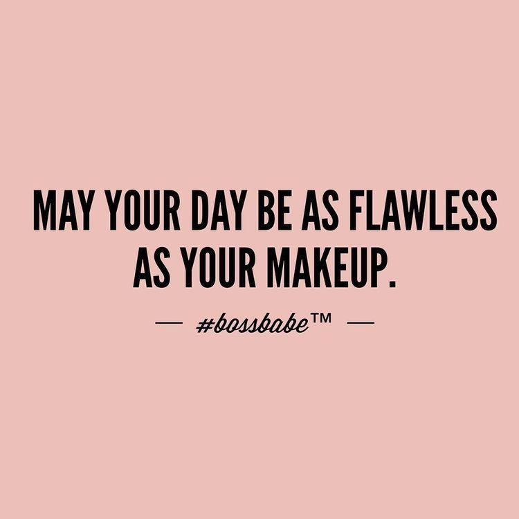 Makeup Motivational Quote