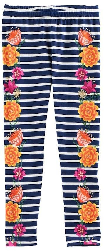 dfc474c99f545 COCO Disney Girls Floral Design Leggings Clothing