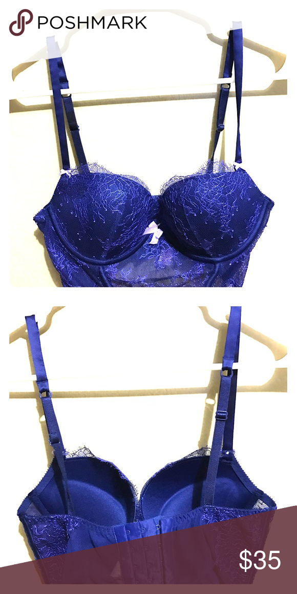 Victoria secret Bra New sexy Lace blue bra Victoria's Secret Intimates & Sleepwear Bras