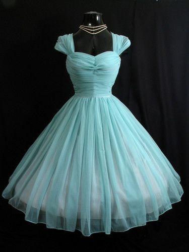 cute 50's dress.