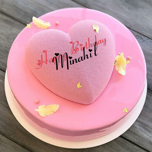 Stupendous Write Name On Heart Birthday Cake For Dear Wife With Images Personalised Birthday Cards Petedlily Jamesorg