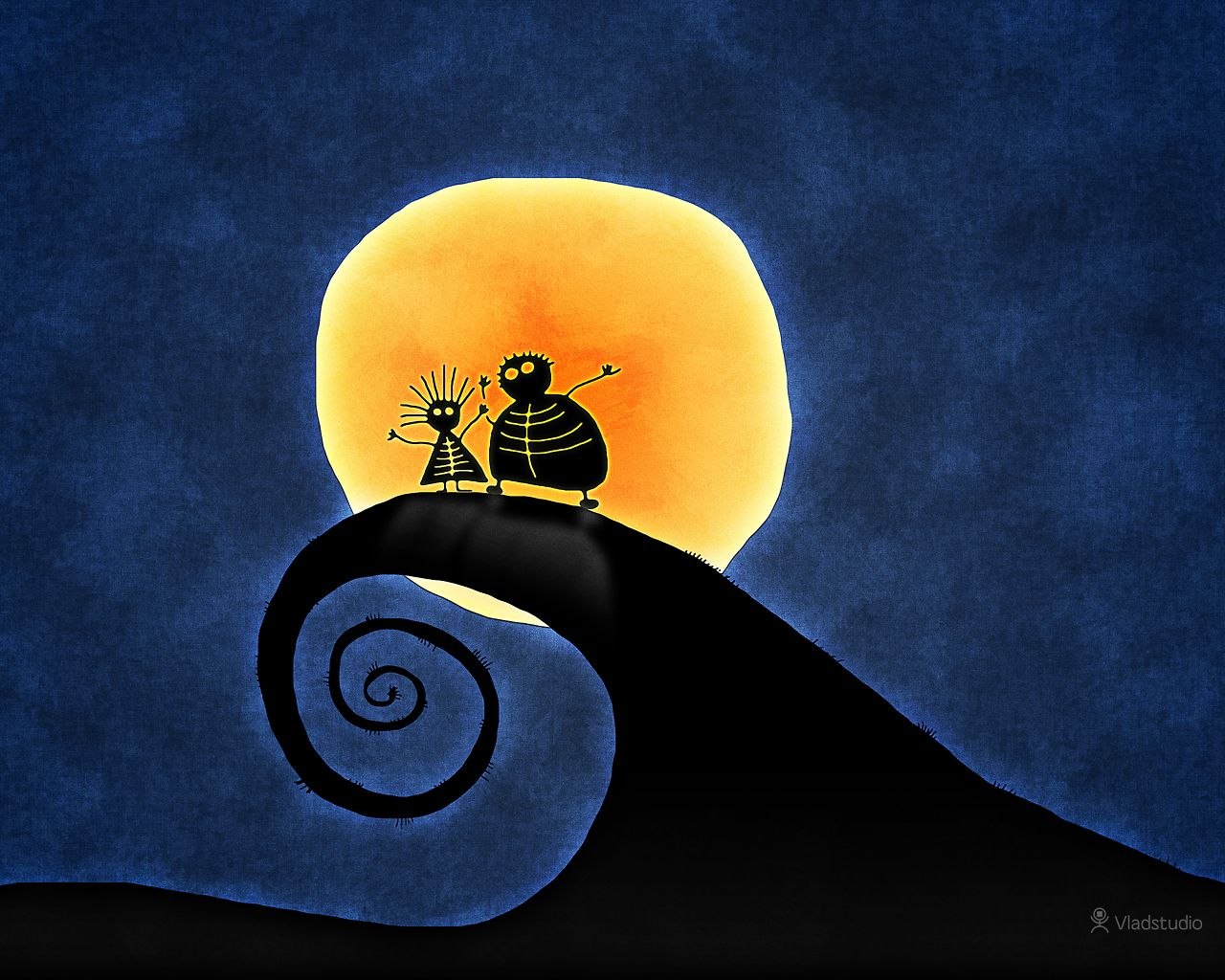 The Two and The Nightmare Before Christmas