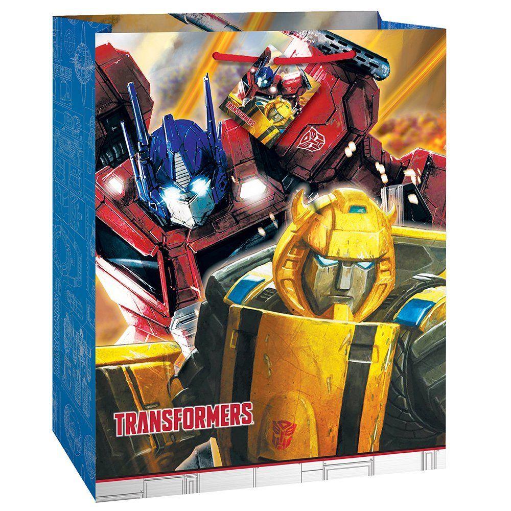 Unique transformers gift bag multicolor party supplies amazon