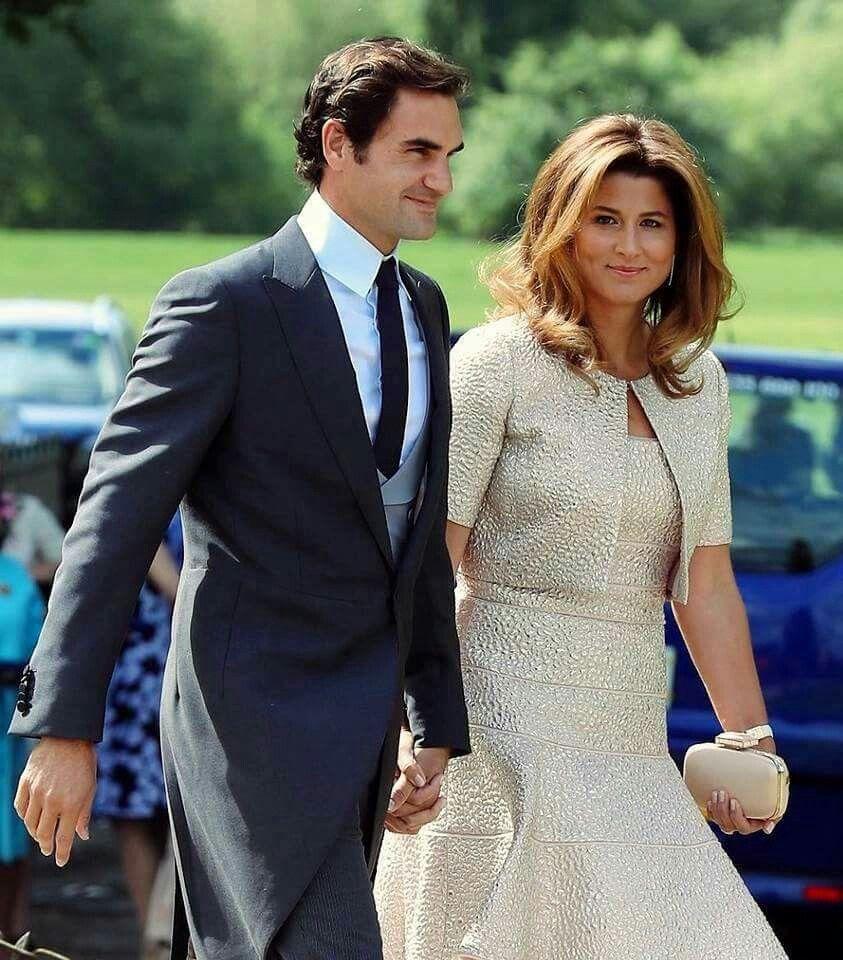 Pippa Middletons wedding 20 May 2017 Roger Federer Pinterest