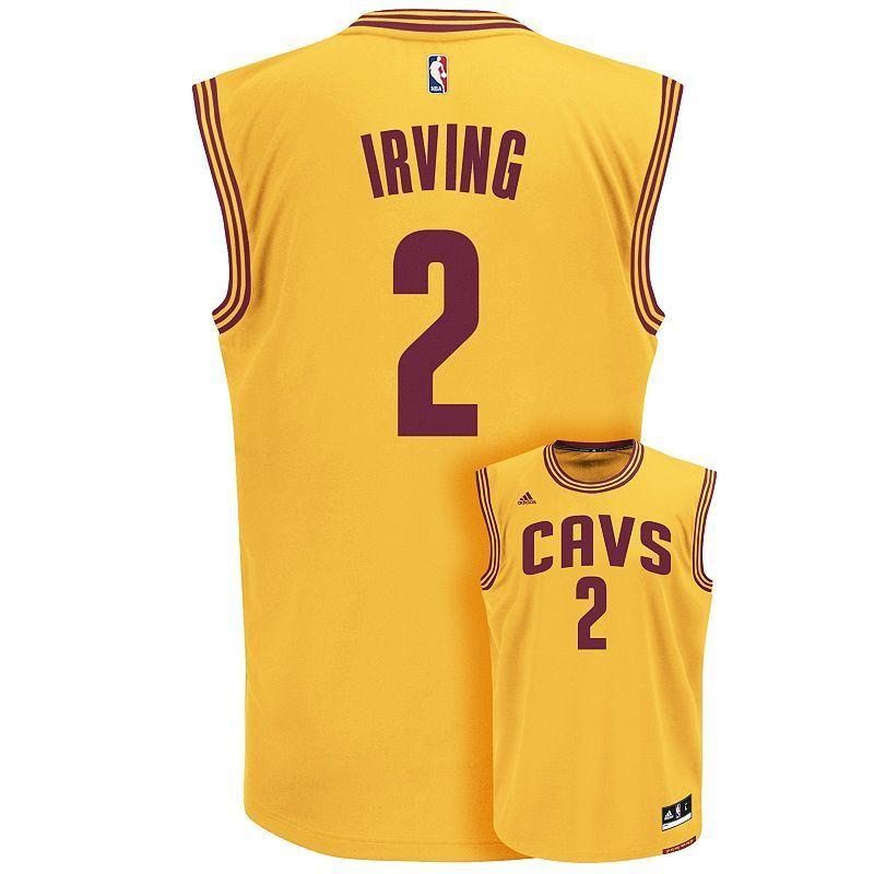 online store a5e70 75a36 Men's adidas Cleveland Cavaliers Kyrie Irving NBA Jersey ...