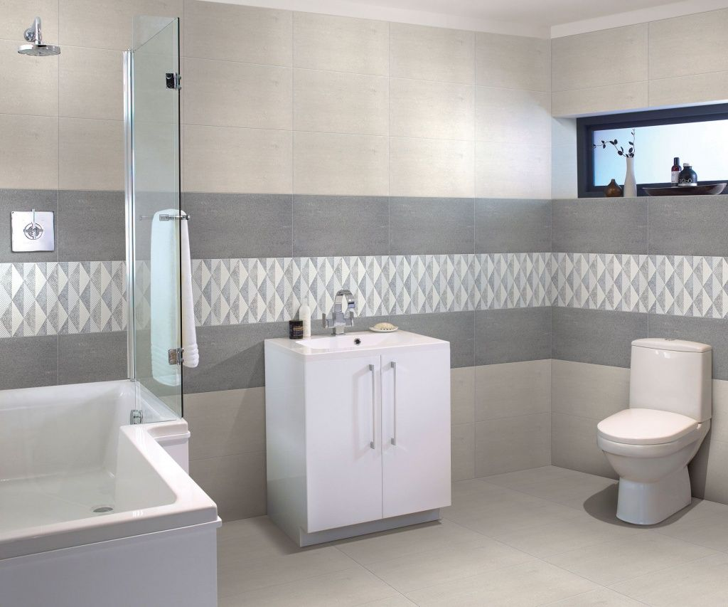 45 Grey Bathroom Ideas 2020 With Sophisticated Designs In 2020 Bathroom Wall Tile Design Bathroom Tile Designs Bathroom Wall Tile