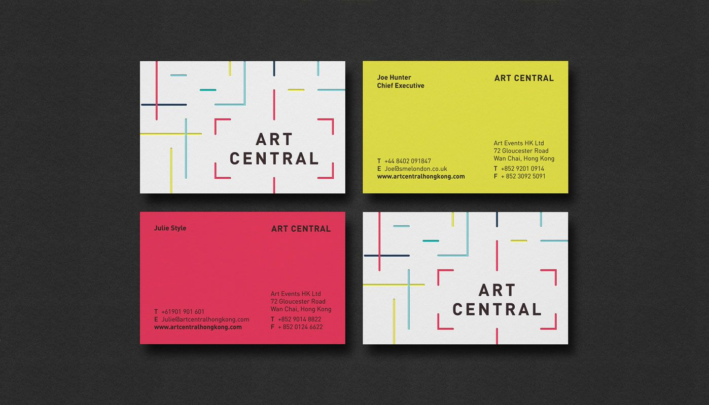 Business cards for art central by the plant graphic design business cards for art central by the plant reheart Choice Image