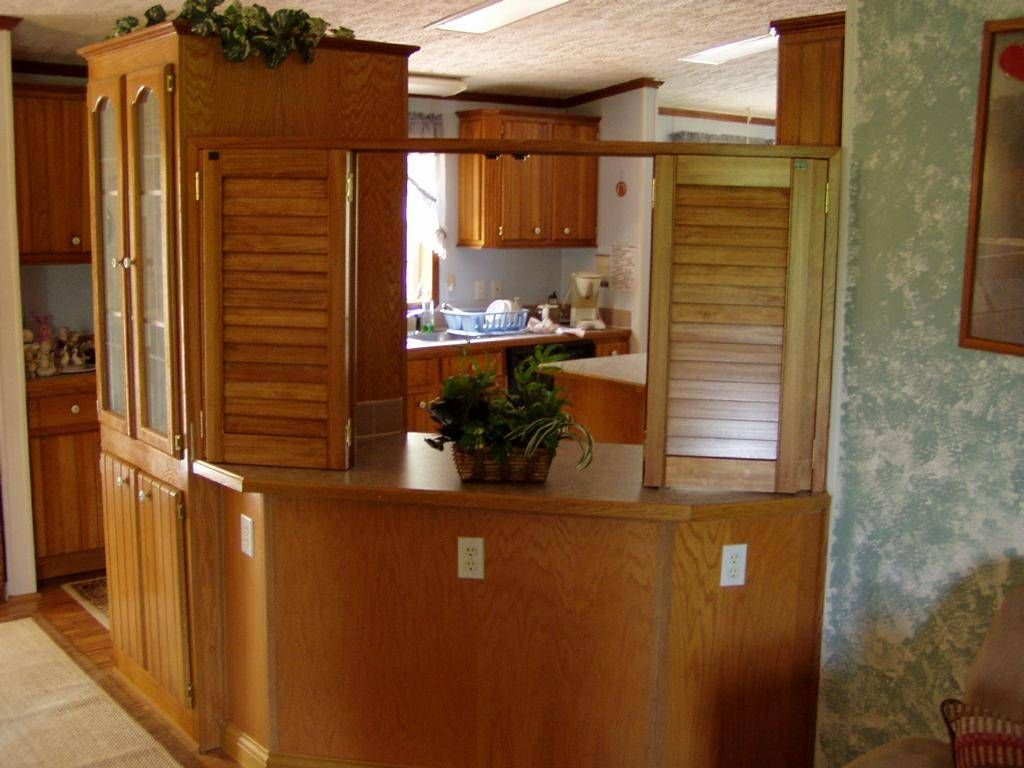 Fascinating half wall room divider for interior design kitchen cabinets and half wall room - Half wall kitchen designs ...
