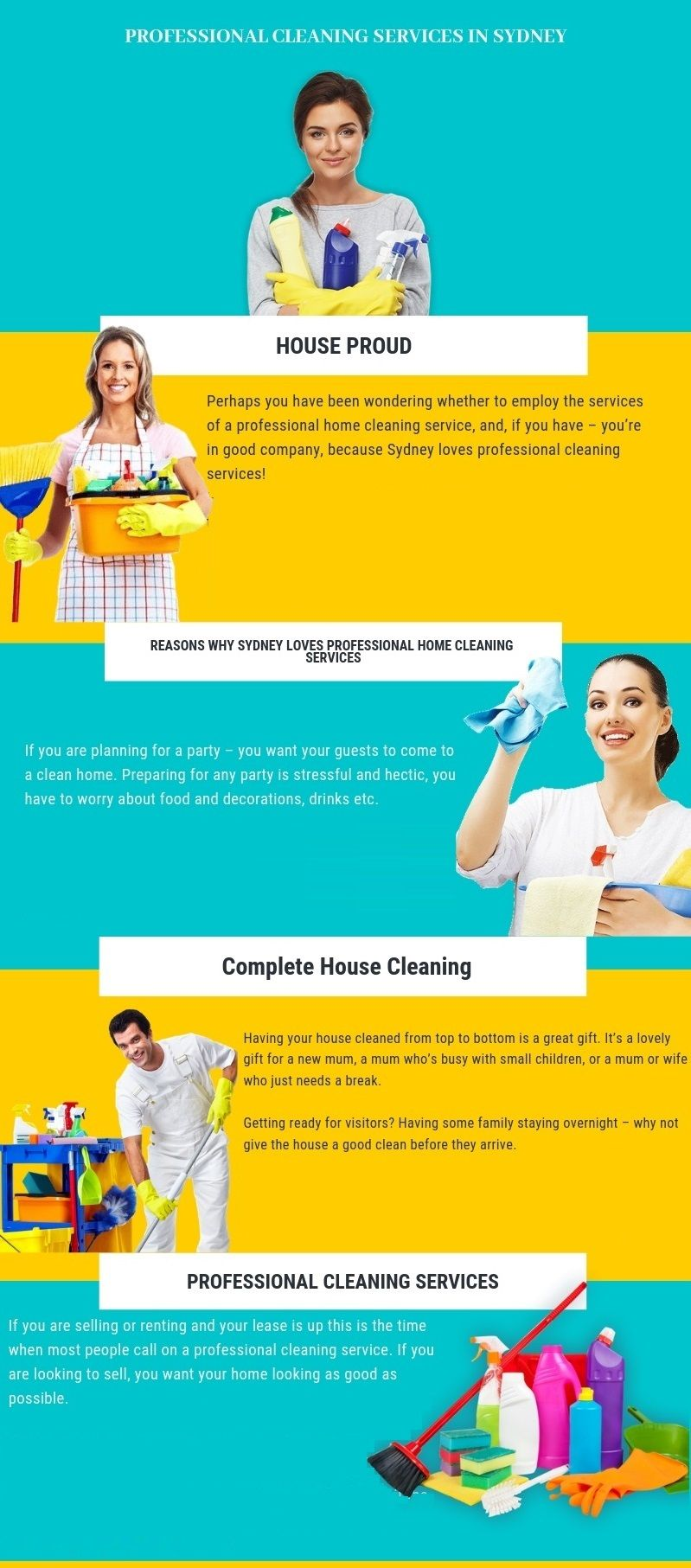 At House Proud cleaning services we provide wide range of