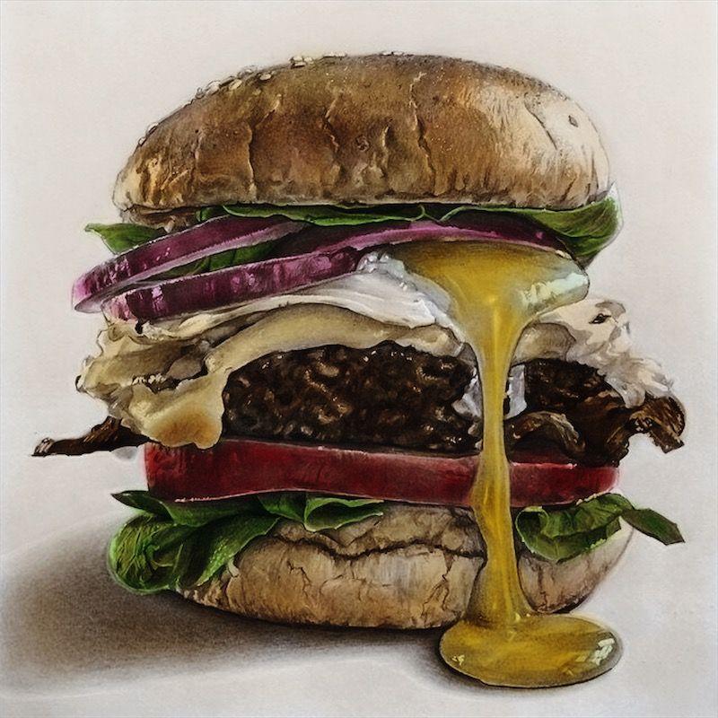 Recolor Food Illustrations Food Drawing Pencil Art