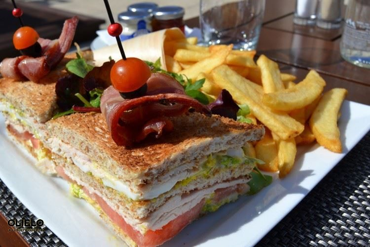 Best Club Sandwich around #Paris! #castle #foodie #hotel #luxury #travel http://goo.gl/oNwO3i